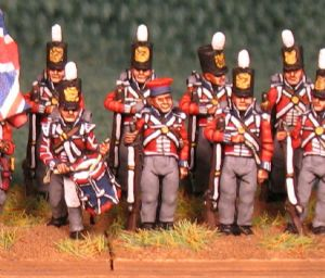 15mm, Napoleonic British KGL Line Infantry AB 24 Figures